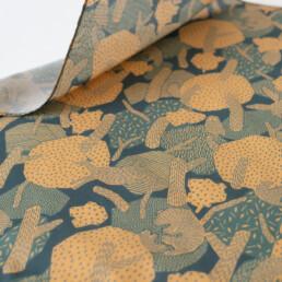 FOREST・森をテーマにしたオリジナルデザインのハンカチ designed by ELEPATI