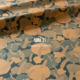 FOREST・森をテーマにしたオリジナルデザインのテキスタイル designed by ELEPATI